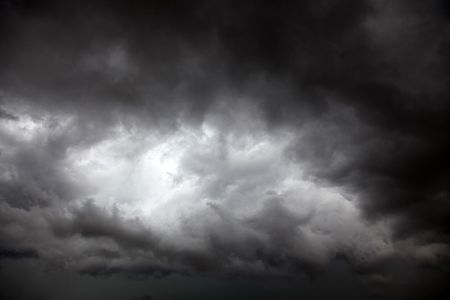 stormy clouds  photo