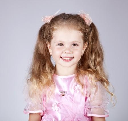 Beautiful young smiling girl photo