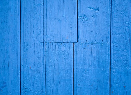 Part of blue wood wall for background. Stock Photo - 7946941