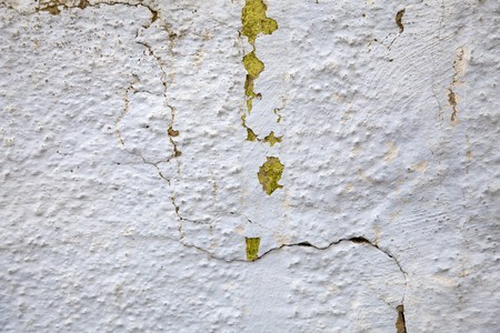 plaster mould: Old cracked wall for background.