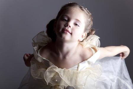 Portrait of cute little girl Stock Photo - 11410417