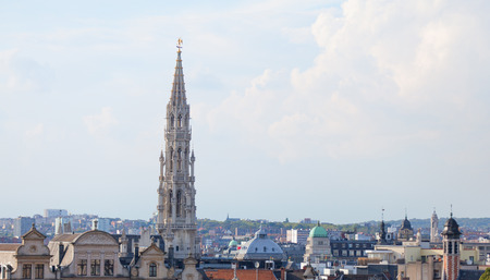 Brussels roofs photo