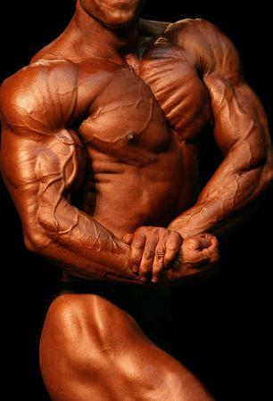 perfect body: Bodybuilder Side Chest