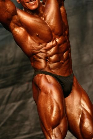 Bodybuilder Abdominals Stock Photo - 409483