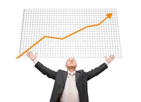 demographic: Confido Business Uomo con le mani fino