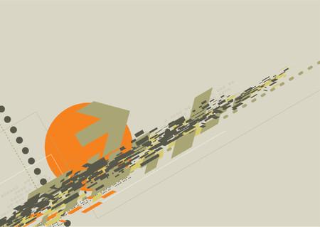 ghetto: Disegno vettoriale sfondo  Vettoriali