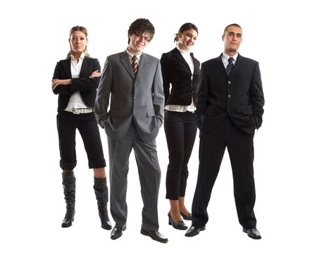 Young attractive business people - the elite business team Stock Photo - 1134063