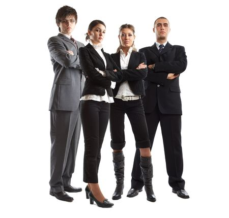 Young attractive business people - the elite business team Stock Photo - 1134066