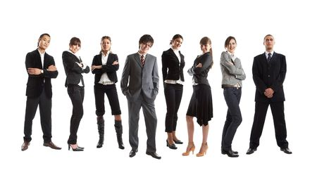 Young attractive business people - the elite business team Stock Photo - 1186350