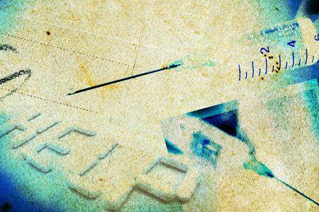 Adictivo - Concepto grunge composición - las cuestiones sociales  Foto de archivo - 1318428