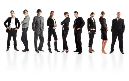 Young attractive business people - the elite business team Stock Photo - 1639630