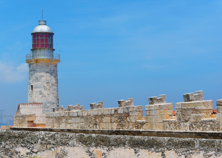 El Morro fortress in Havana, Cuba. Editorial