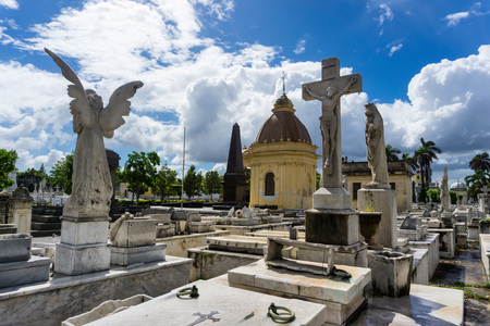 THE COLON CEMETERY IN HAVANA