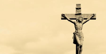 Statue of Jesus Christ on the cross