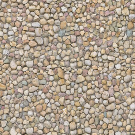 The wall is laid out according to the ancient method of cobblestone and stone