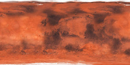 Surface of the planet Mars close-up .Texture or background
