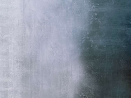 Grey grunge textured wall space to copy.Texture or background Banco de Imagens