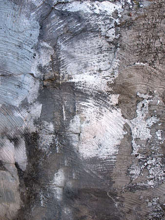 The wall of an old house aged by time . Texture or background