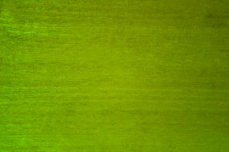 Scratched plywood sheet painted green.Texture or background Standard-Bild - 167151999