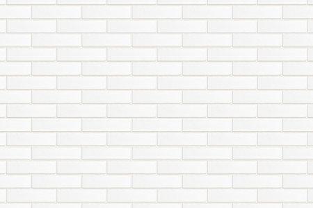 Decorative tile imitation of a white brick wall close up