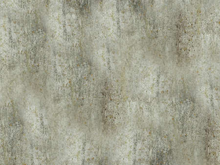 Time-aged concrete wall with lichen on the surface Archivio Fotografico