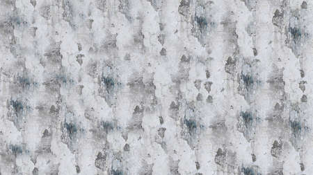 Textured grey concrete wall with cracks on the surface.Texture or background