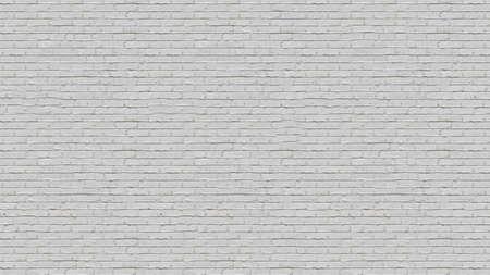 White brick wall detailed pattern textured background.Texture or background Standard-Bild