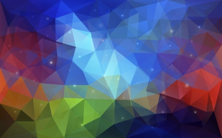 paper fold: Triangular abstract colorful texture  Vector background