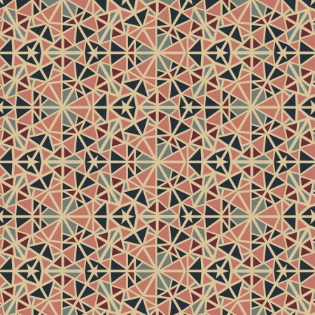 Seamless abstract vintage pattern Vector