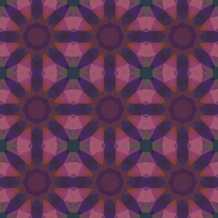 Kaleidoscope abstract colorful pattern  Vector concept illustration  Vector