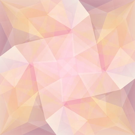 triangular shape: Colorful abstract symmetry background  Concept vector illustration