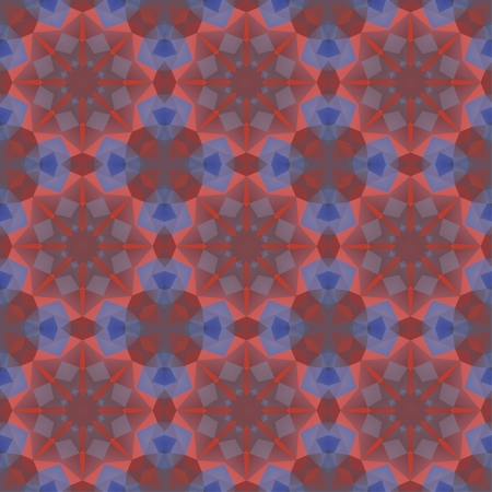 Kaleidoscope abstract colorful vintage pattern. Vector concept illustration. Vector