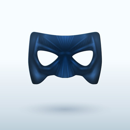 disguise mask: Black Leather Mask