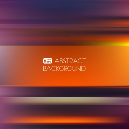 Red-Orange Abstract Striped Background.  Vector