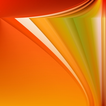 mash: Colorful Autumn Abstract Background - Vector Illustration With Gradient Mash Illustration