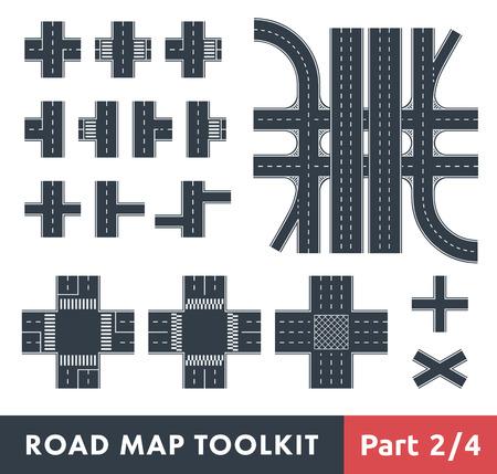 Road Map Toolkit. Teil 2 von 4: Kreuzungen und Fußgängerüberwege
