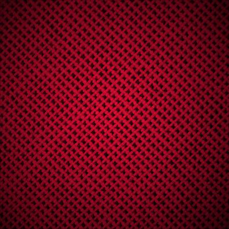 vezels: Abstracte donkere achtergrond met Red Fabric Texture Vezels