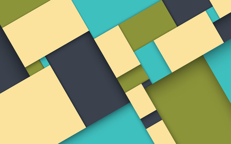 geometry: Contemporary Abstract Geometry Background - Vector Wallpaper