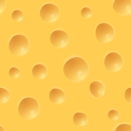 Repeating Pattern - Surface of Holland Cheese