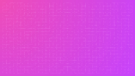 mauve: Bright Mauve Abstract Technology Background with a Random Grid of Elements - Vector Wallpaper