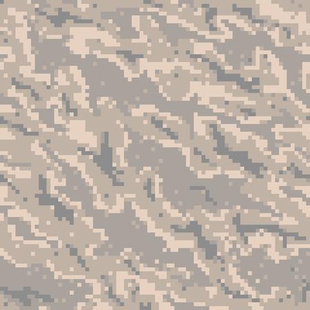 Militär tarnt Textil Seamless: USA, 2002, USAF Digital-Tiger-Streifen - Vektor-Illustration mit Muster in Farbfeldbedienfeld