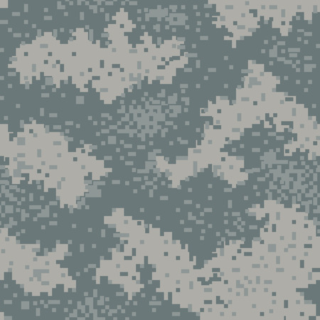 swatches: Military Camouflage Textile Seamless: USA, 2004, UCP - Vector Illustration with Pattern in Swatches Panel Illustration