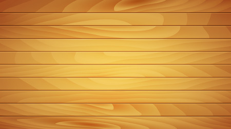 Realistic Boardwalk Background with Clipping Mask for Each Board. Vector Illustration. Illustration