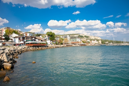 The town of Balchik on the Black sea coast, Bulgaria