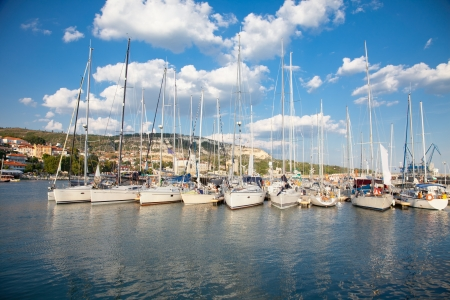 balchik: Yacht Club in  Balchik on the Black sea coast, Bulgaria  Stock Photo