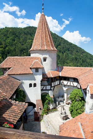 Bran , Dracula castle, today is museum, Romania Stock Photo
