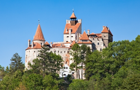 bran: Bran , Dracula castle, today is museum, Romania Stock Photo