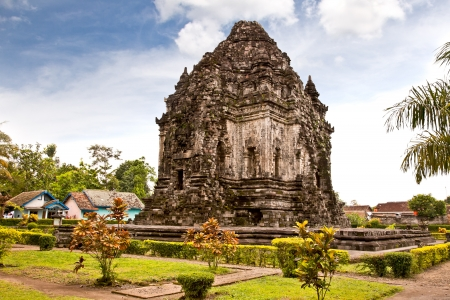 Candi Kalasan buddhist temple in Prambanan valley on  Java. Indonesia. Built around 778 a.d. it supposedly is the oldest temple among those built in the Prambanan valley. Stock Photo