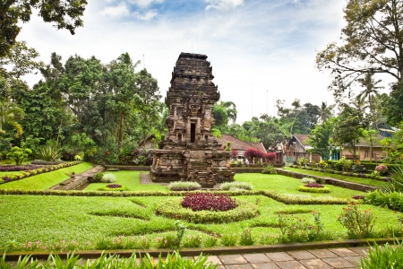 Candi Kidal Temple near by Malang on east Java, Indonesia. Stock Photo