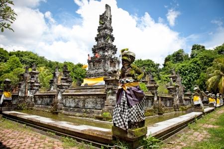 Pura Jagatnatha Temple was built  1953. in Denpasar, Bali, Indonesia